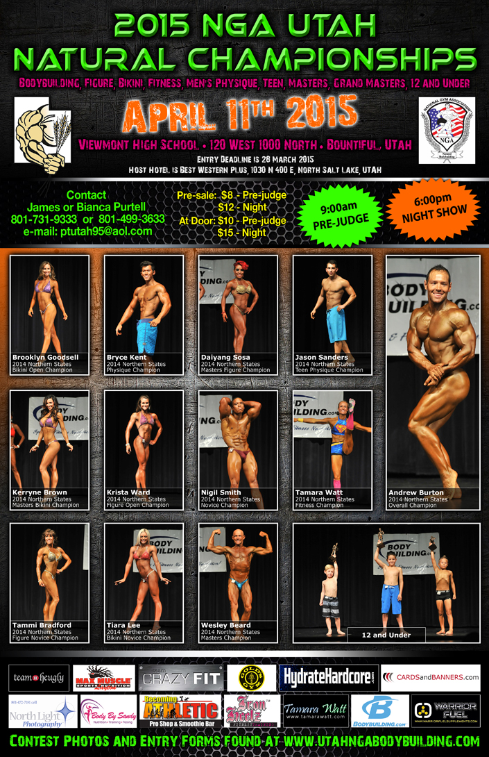 Our next bodybuilding show in Utah